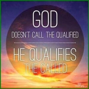 call the qualified