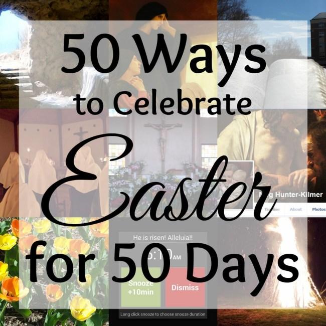 50 ways Easter