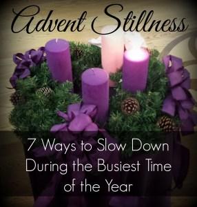 Advent stillness
