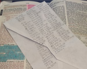 More or less a list of the Scriptures I've got memorized, though I didn't list most of the apologetics type ones.