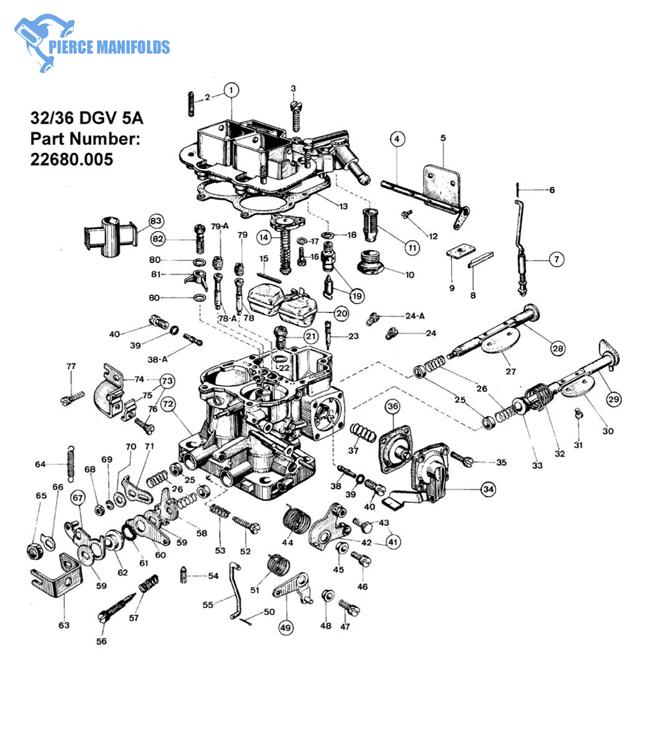 32/36 DGV 5A Manual choke