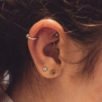 18 Gauge Spiral Helix Earring 45 Best My Tragus Conch And ...