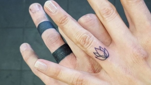 76 Of The Most Inventive Wedding Band Tattoo Designs