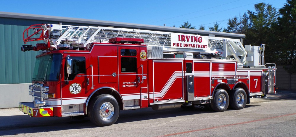 medium resolution of pierce delivers three dash cf pumpers and a dash cf heavy duty ladder to irving texas fire department