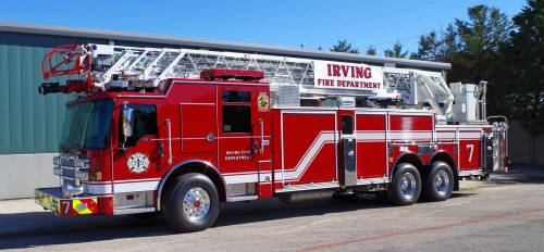 small resolution of pierce delivers three dash cf pumpers and a dash cf heavy duty ladder to irving texas fire department