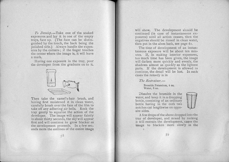 The Kodak Manual for No. 5 Folding Kodak, 1894