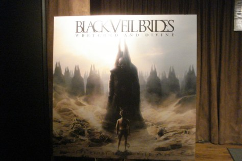 black veil brides, andy biersack, wretched and divine album preview