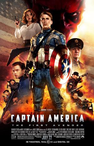 Poster - Captain America - 2011
