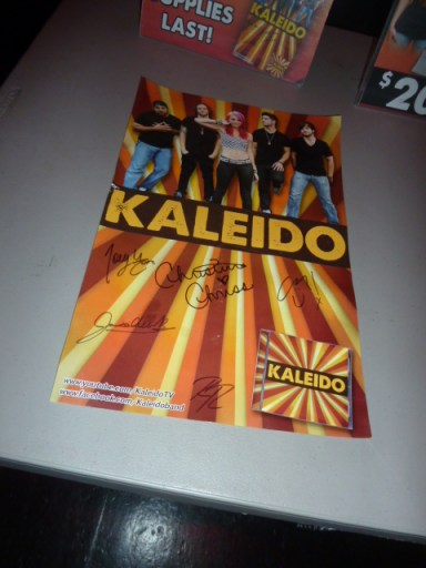 kaleido, kaleido poster, kaleido cd,