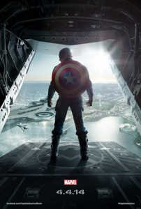 Poster - Captain America The Winter Soldier - 2014