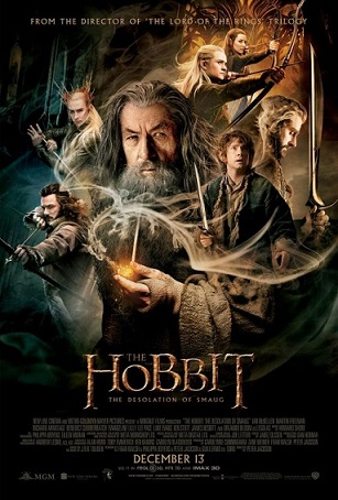 Poster - The Hobbit - The Desolation of Smaug - 2013