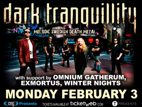 Poster - Dark Tranquillity at Stage 48 - 2014