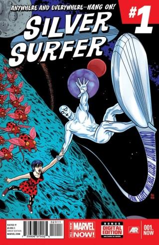 Comic - Silver Surfer - 1 - 2014