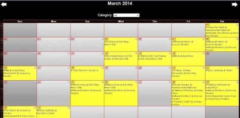 Photo - Calendar March 2014