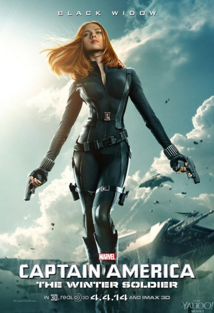 Captain-America-2-Winter-Soldier-Black Widow Poster