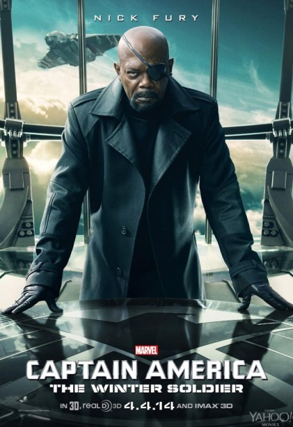 Captain-America-2-Winter-Soldier-Nick-Fury Poster