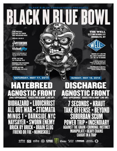 Poster - Black N Blue Bowl - 2014