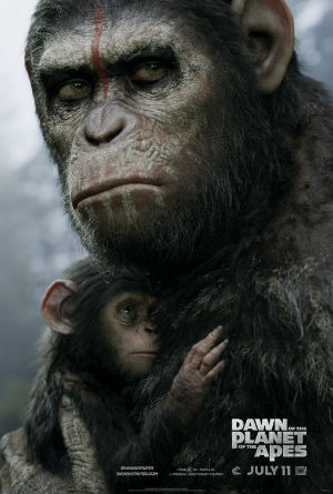 Poster - Dawn of the Planet of the Apes - 2014