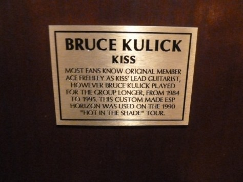 hard rock cafe, kiss memorabilia