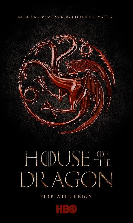 television posters, promotional posters, warner brothers television, hbo max, house of the dragon