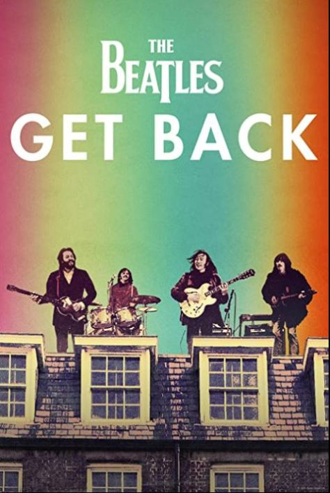 movie posters, promotional posters, the beatles: get back