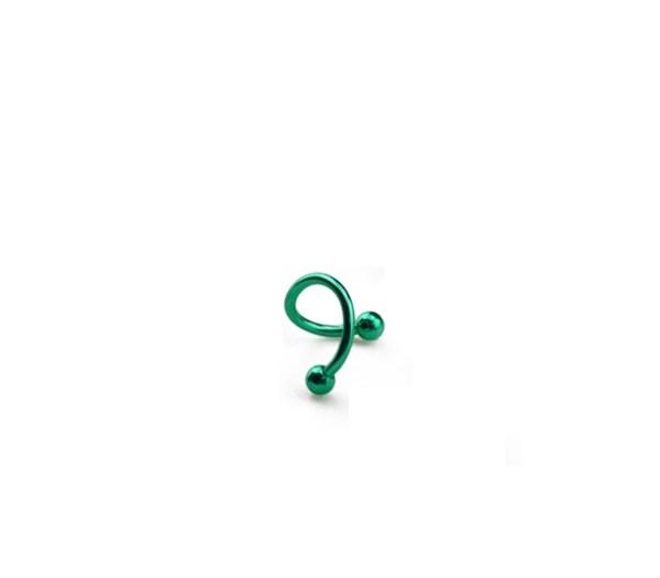 Twister Piercing Yeşil