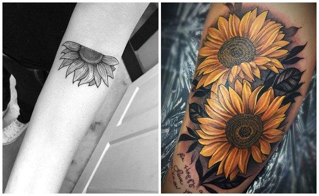 Tatuajes De Girasoles Y Sus Significados Curiosos Y Ancestrales