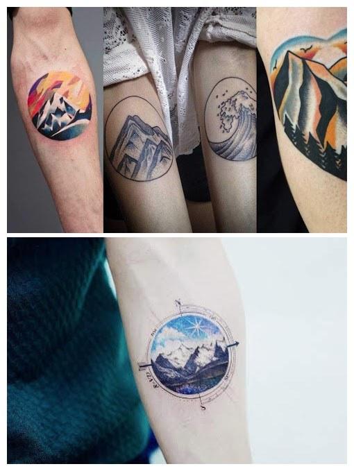 Tatuajes De Montañas Para Aventureros Y Amantes De La Naturaleza