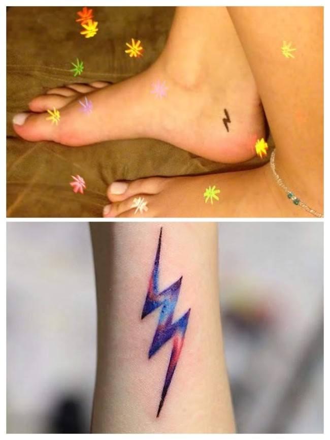 Tatuajes De Rayos Truenos Y Relámpagos Para La Tormenta Perfecta