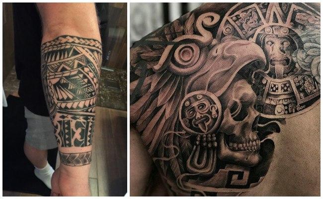 Simbolos Aztecas Y Mayas Tatuajes Aztecas Y Mayas Significado