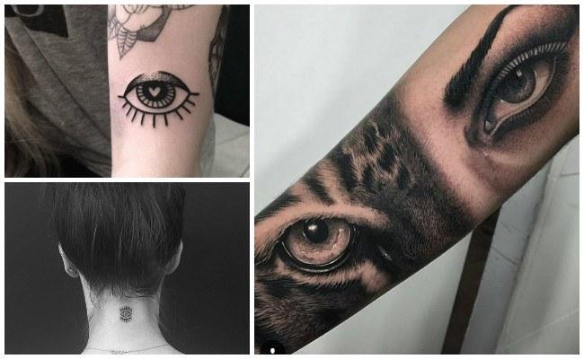 Tatuajes De Ojos Y Su Significado Diseños E Ideas Geniales
