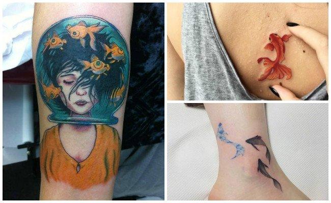 Tatuajes De Peces Para Hombres Y Mujeres Significados Y Diseños