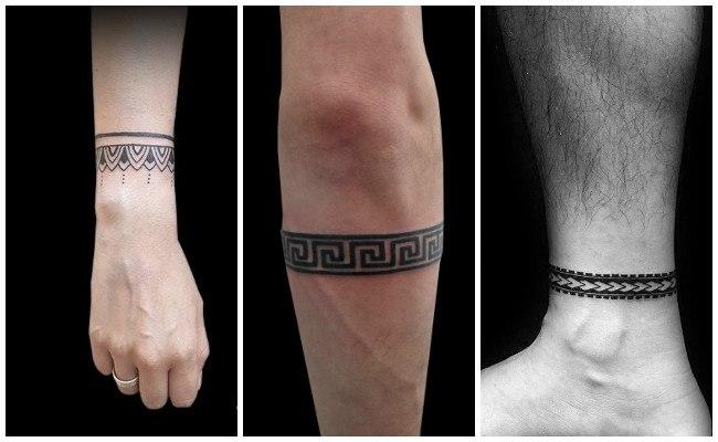 Tatuajes De Brazaletes Y Pulseras Significados Y Diseños