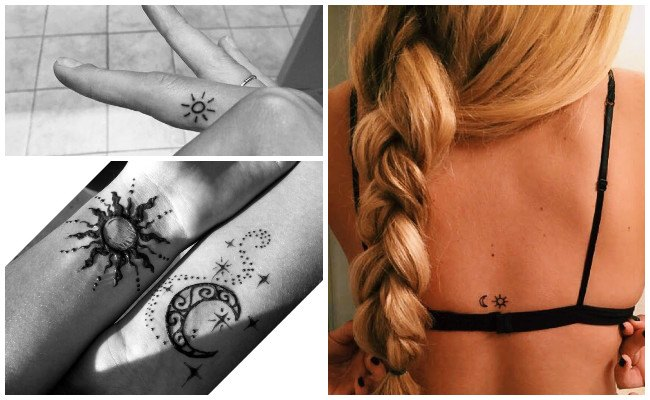 Tatuajes De Soles Y Su Significado Que Iluminarán Tu Piel