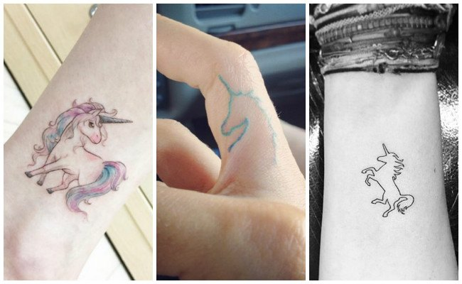 Tatuajes De Unicornios Diseños Y Significados Del Caballo Alado