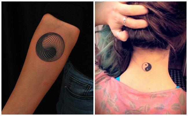 Tatuaje Yin Yang Espalda Guatelinda