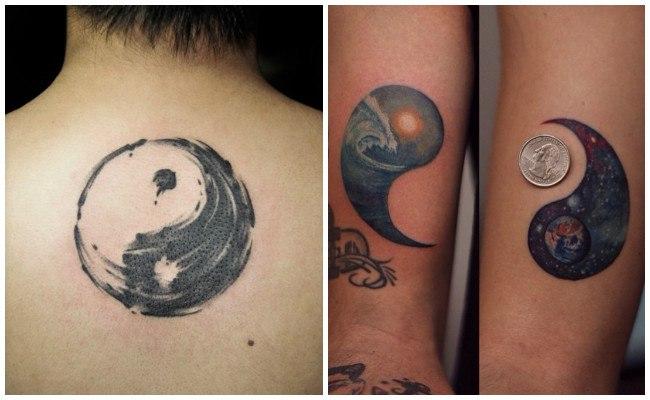 Yin Yang Tatuaje Pareja Gastatuajes