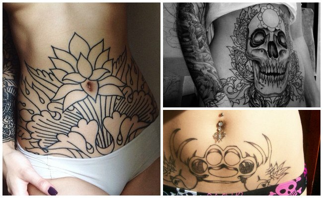 Tatuajes En La Cadera El Abdomen Y El Vientre Grandes Posibilidades