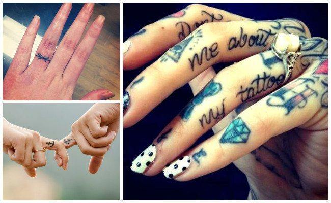 Tatuajes En Los Dedos Lo Que Debes Saber Antes De Tatuarte