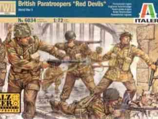 Italeri - 6034 British Paratroopers