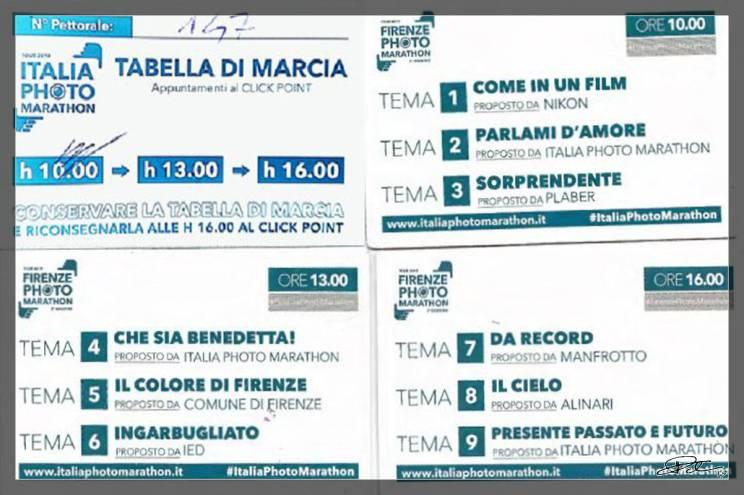 Firenze Photo Marathon 2019 – I Temi