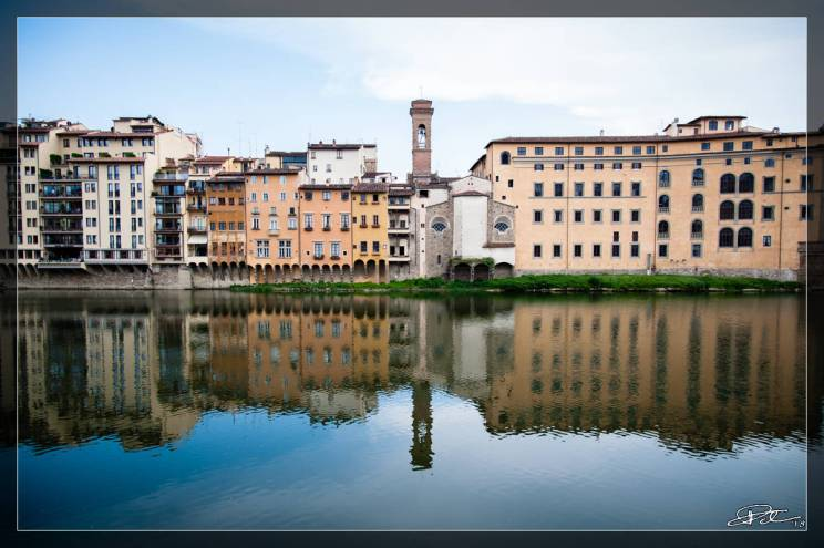 Firenze Photo Marathon 2018 – Tema #8 Lungarno – Eterni Riflessi