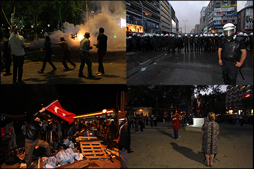 Gezi protests in Ankara