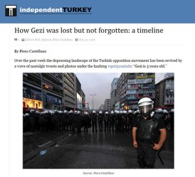 How Gezi was lost but not forgotten: a timeline