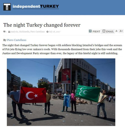 The night Turkey changed forever