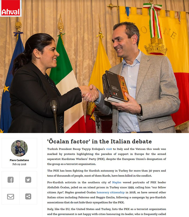 'Öcalan factor' in the Italian debate