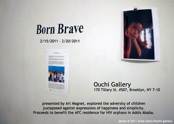 'Born Brave' at Ouchi Gallery, Brooklyn, NY