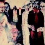 Zombi, 1987 olio su tavola, cm 200x180 collezione privata