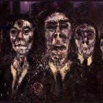 Zombi II, 1987 olio su tavola, mt.1,63x62 cm. collezione privata