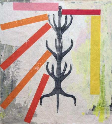 Reed Anderson - Hangman, 2012, Mixed media, 39.75 x 36 inches